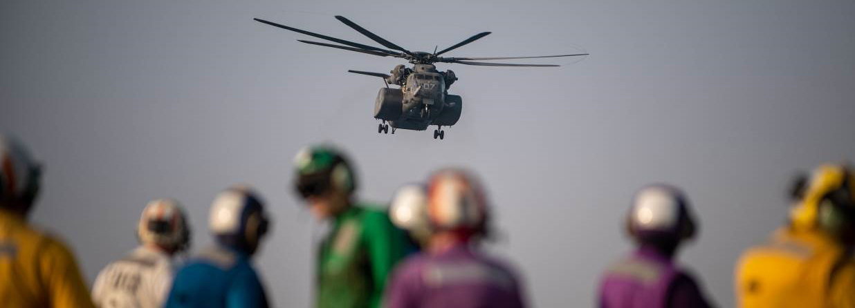MH-53 Sea Dragon Flight Operations