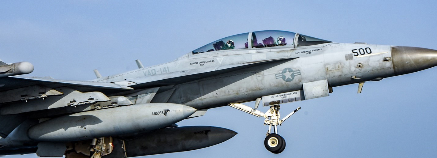 EA-18G Growler Flight Operations