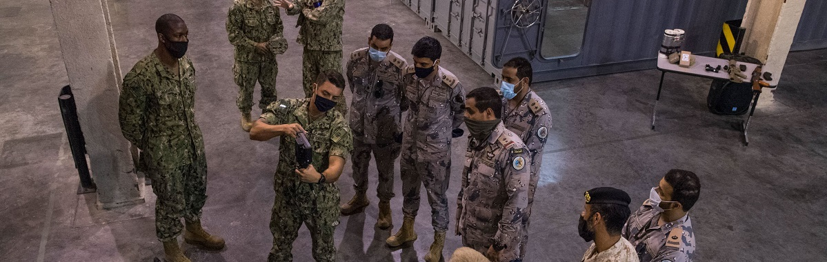 Combined Task Force 152 Tour Coast Guard Patrol Forces Southwest Asia Facilities